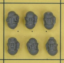Warhammer 40K Space Marines Sternguard Squad Heads