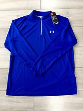 BNWT Gents Under Armour running/cycling top in blue xl