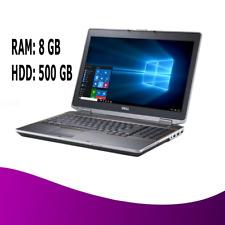 "FAST Dell Core i5 14.1"" Latitude Laptop Windows 10 LED WiFi HDMI - 8GB/ 500G HDD"