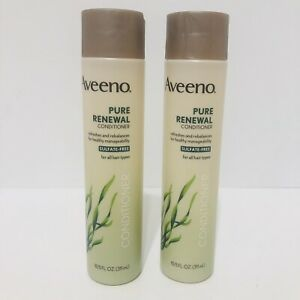 2 Aveeno Pure Renewal Conditioner for All Hair Types 10.5 fl oz NEW