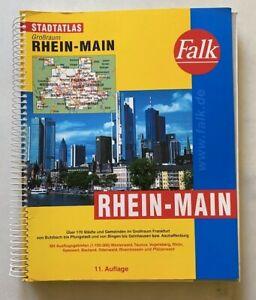 Falk Stadtatlas - RHEIN-MAIN - über 170 Städte + Gemeinden im Großraum Frankfurt