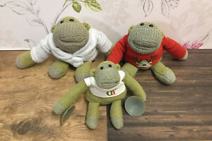3x PG Tips Chimp - Red Xmas - Dressing Gown - Small Window Hanger - Soft Toys
