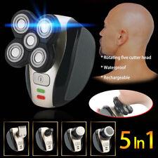 5-In-1 Men Electric Head Shaver Easy Electric Head Razor Waterproof Clipper Hot