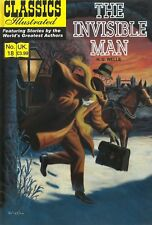 UK Classics Illustrated #18 - The Invisible Man - March 2010, new copy!