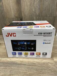 "JVC 6.8"" DIGITAL MEDIA RECEIVER WITH BLUETOOTH   KW-M150BT   NEW OPEN BOX"