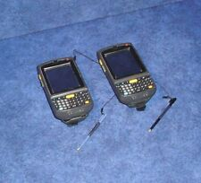 Lot of 2x Motorola Symbol MC75AO Mobile Computing Assistant w/Stylus - Black  #8