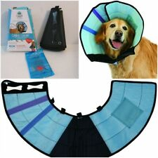 "Calm Paws Caring Soft Recovery E Collar w/ Calming Gel Patch Medium 12-16"" Neck"