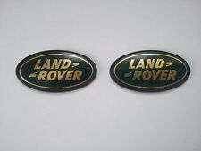 LAND ROVER front and rear boot badges