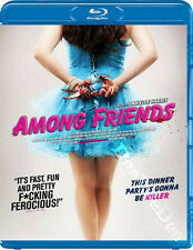 Among Friends NEW Cult Blu-Ray Disc Danielle Harris Christopher Backus J. Blanc