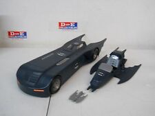1995 KENNER BATMAN ANIMATED SERIES BATMOBILE 100% COMPLETE PURSUIT JET BOMB NICE