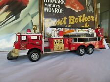 Large Firefighter truck Rescue Boom Metro FD 55 Quality Toys New Bright 1992