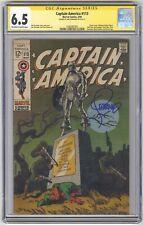 Captain America #113 CGC 6.5 VINTAGE Marvel Comic Signature Series Jim Steranko