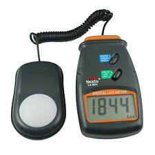 3 Range Digital Light Meter, Lighting Audit, Lux Meter Luxmeter LED Lamp 50k