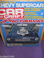 CAR CRAFT 1982 MAY V6 RACE ENGINE BOB GLIDDEN EXP PINTO FORD PERFORMANCE MUSCLE