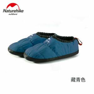 Winter Outdoor Camping Women Men Warm Comfort 3M Cotton Non-slip Boot Slippers