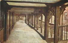s05905 The Row, Watergate Street, Chester, Cheshire, England postcard unposted