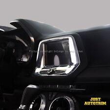 Chrome navigation screen Cover Trims for 2016-17 Chevrolet Camaro Accessories