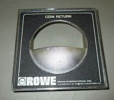 Rowe 4900 / 5900 Snack Machine Coin Return Plate Only, Guc