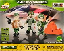 COBI American Soldiers - 3 figurines (2026) - 25 elem.