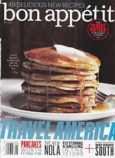 BON APPETIT May 2013 -- Travel America: 10 Best Hotels for Food Lovers