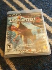 UNCHARTED 2: AMONG THIEVES PLAYSTATION 3 - NO Manual PS3