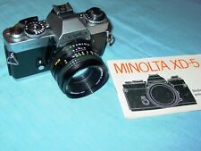 MINOLTA  XD-5 + 50 MM