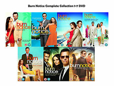 Burn Notice Complete Series Collection 1-7 DVD Season 1 2 3 4 5 6 7 UK Releas R2