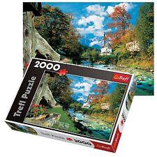 Trefl 2000 Piezas Adulto Grande montañas Alpes Bávaros Alemania Rompecabezas De Piso