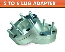 2 Wheel Adapters 5x4.5 to 6x5.5 | For Toyota Chevy 6 Lug Wheels On TJ YJ KK XJ