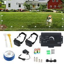 Underground Electric Fence Wireless Containment System 2 Dog Pet Training Collar