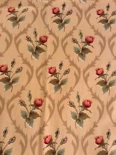 Vintage Anne & Robert Swaffer Hascombe screen printed floral 100% cotton fabric