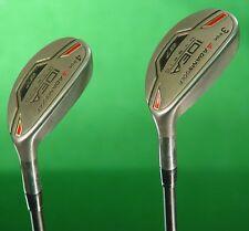 Adams Idea a7 Hybrid 3 & 4 Irons Tight Lies Supershaft Graphite Regular SET OF 2