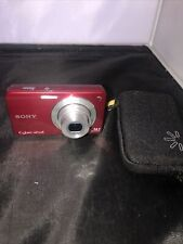 Sony Cyber-shot DSC-W560 14.1MP Digital Camera - Red