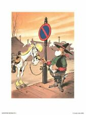 Affiche Offset Lucky Luke Archives N°4 : Le juge