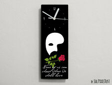 Phantom of the Opera Quotes -None of us can choose... - Wall Clock