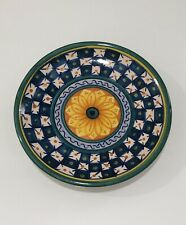 """Vintage  Antique Italian Artichoke Plate Marked and numbered Italy 9.5/"""""""
