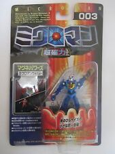 Takara Microman Magne Powers 003 Walt Action Figure