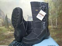 Lackner Stiefel Stiefeletten Winter Damenschuhe schwarz  Gr.36-42 7803 Neu12