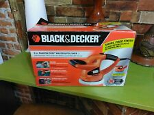 "BLACK & DECKER 6"" RANDOM ORBIT WAXER & POLISHER (ONE TIME USED)"