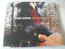 DAVID JORDAN - SUN GOES DOWN - UK CD SINGLE