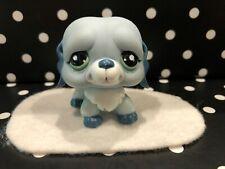 AUTHENTIC LITTLEST PET SHOP DOG/PUPPY # 1087 ADVENT CALENDER SAINT BERNARD BLUE