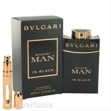 Bvlgari Man in Black Eau De Parfum BIG Refillable Travel Atomiser 12ml Spray