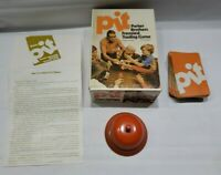 Vintage Pit Parker Brothers Frenzied Trading Card Game Orange Bell Box No. 661