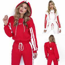 Damen Hausanzug Sportanzug Jogginganzug Pullover Hose Freizeit Trainingsanzug