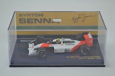 1/43 Minichamps Ayrton Senna McLaren Honda MP4/4 1988 World Champion F1