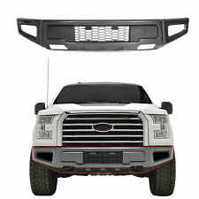 Raptor Style Steel Front Bumper Assembly For Ford F-150 F150 2015-2017 Gray