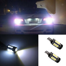 2*  White Reverse Backup Light LED For BMW 5 Series 525i 528i  550i E60 E61 M5