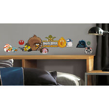 New RoomMates RMK2164SCS Angry Birds Star Wars Peel and Stick Wall Decals
