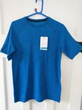 Energetics Elias I Ux Tee Gym Running T Shirt Blue - Mens Size Small Fitness New