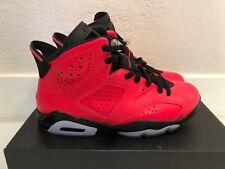 2014 Mens Nike Air Jordan 6 VI Retro SZ 9 Infrared Black 384664-623